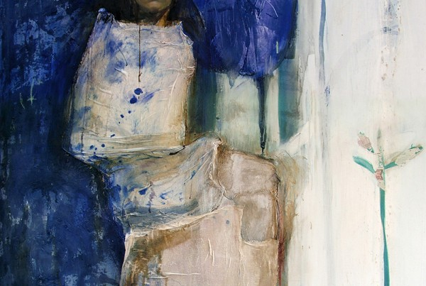 06 woman in blue