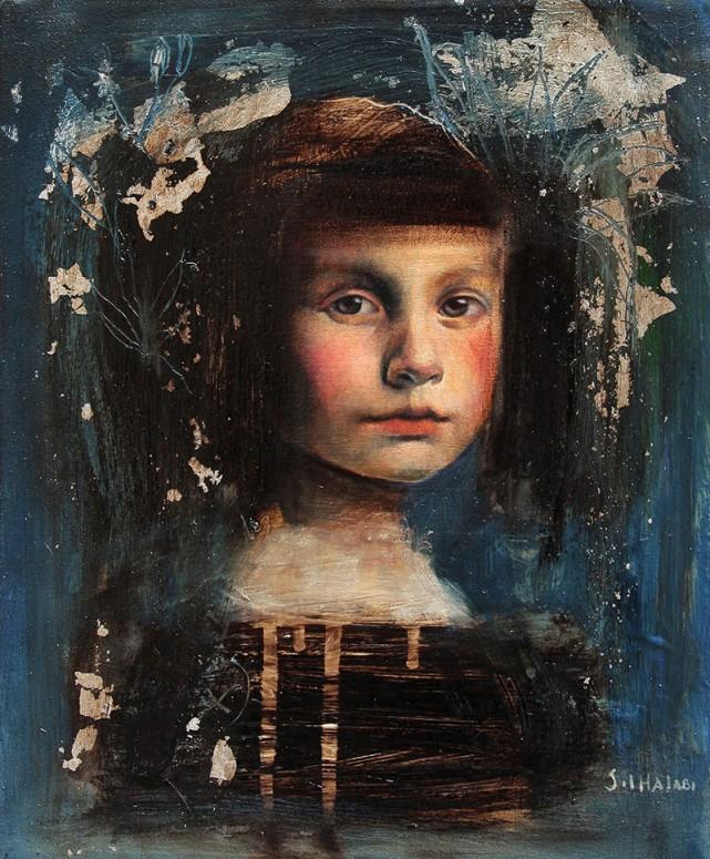 09 niña azul