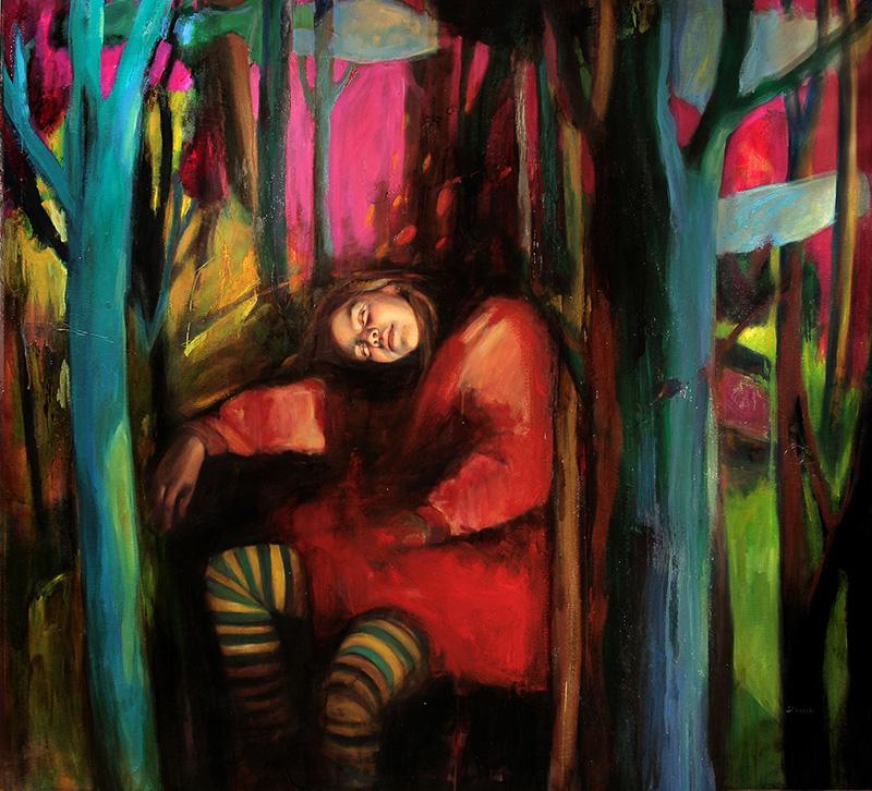 09 sueño en el bosque 140 x150